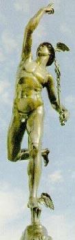 Statue de Mercure